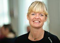 Portræt af Helle Tamsen Ellemann