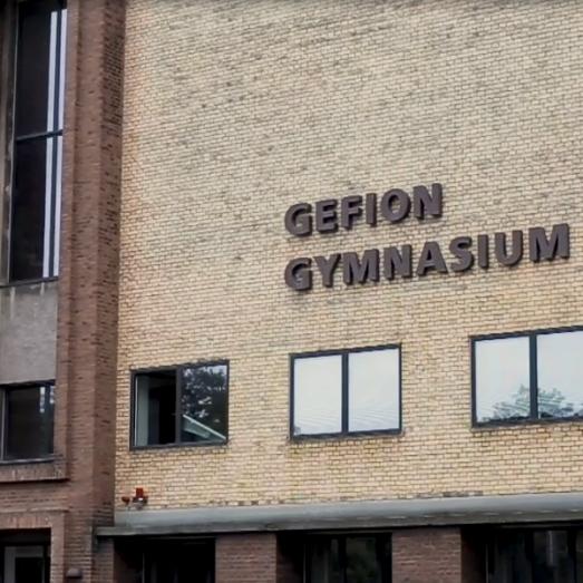 Indgang til Gefion